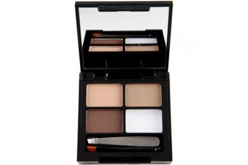 Makeup Revolution Focus & Fix szett a tökéletes szemöldökért árnyalat Light Medium 4 g szemöldökceruza