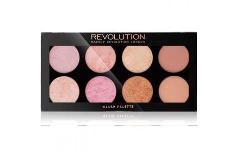 Makeup Revolution Golden Sugar 2 Rose Gold arcpirosító paletta  13 g Arcpirosítók