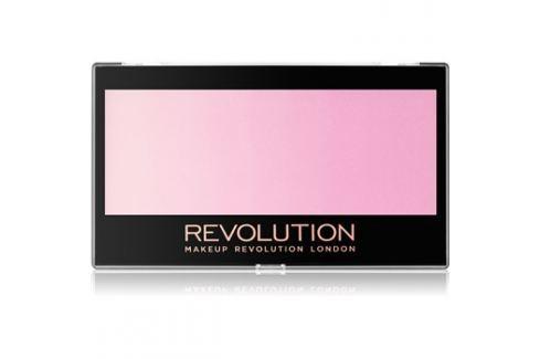 Makeup Revolution Gradient arcpirosító árnyalat Peach Mood Lights 12 g Arcpír