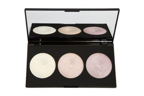 Makeup Revolution Highlight élénkítő púderek palettája  15 g Púderek