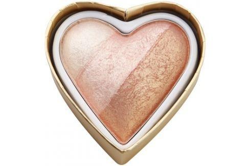 Makeup Revolution I ♥ Makeup Blushing Hearts arcpirosító árnyalat Iced Hearts 10 g Arcpír