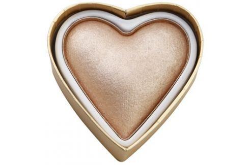 Makeup Revolution I ♥ Makeup Blushing Hearts világosító púder hűség istennője  10 g Highlighterek