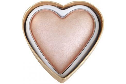 Makeup Revolution I ♥ Makeup Blushing Hearts világosító púder szerelem istennője  10 g Highlighterek
