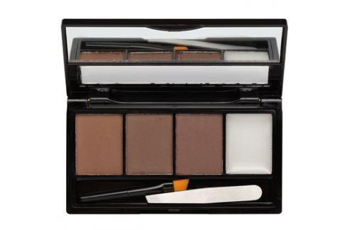 Makeup Revolution I ♥ Makeup Brows Kit szett a szemöldökre árnyalat I Woke Up this Groomed 3 g szemöldökceruza