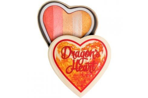 Makeup Revolution I ♥ Makeup Dragon's Heart bőrélénkítő arcra és szemre  10 g Highlighterek