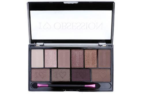 Makeup Revolution I ♥ Makeup I ♥ Obsession Palette szemhéjfesték paletták (Pure Cult) 17 g Szemhéjfestékek