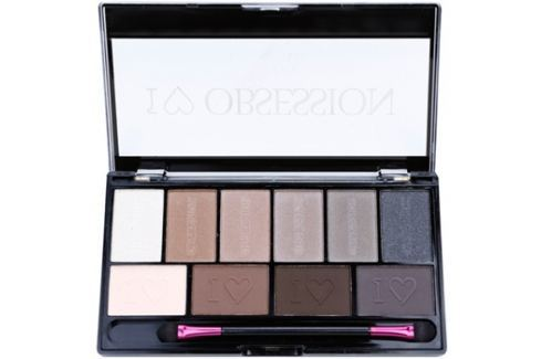 Makeup Revolution I ♥ Makeup I ♥ Obsession Palette szemhéjfesték paletták (Born To Die) 17 g Szemhéjfestékek