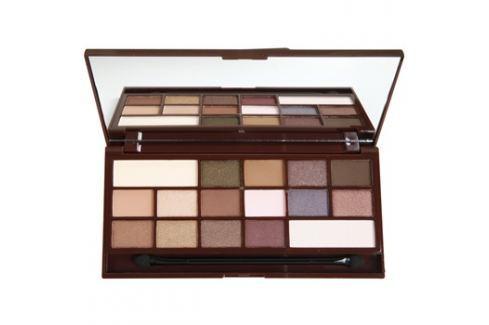 Makeup Revolution I ♥ Makeup I Heart Chocolate szemhéjfesték paletták tükörrel és aplikátorral árnyalat I Heart Chocolate  22 g Szemhéjfestékek