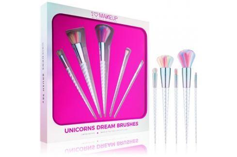 Makeup Revolution I ♥ Makeup Unicorns Dream ecset szett  5 db kiütések ellen