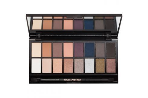Makeup Revolution Iconic Pro 2 szemhéjfesték paletták tükörrel és aplikátorral  16 g Szemek