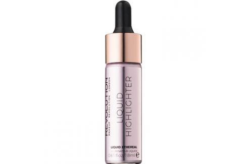 Makeup Revolution Liquid Highlighter folyékony bőrélénkítő árnyalat Liquid Ethereal 18 ml Highlighterek