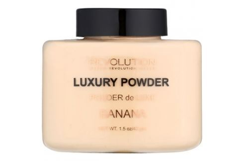 Makeup Revolution Luxury Powder mineral púder árnyalat Banana 42 g Púderek