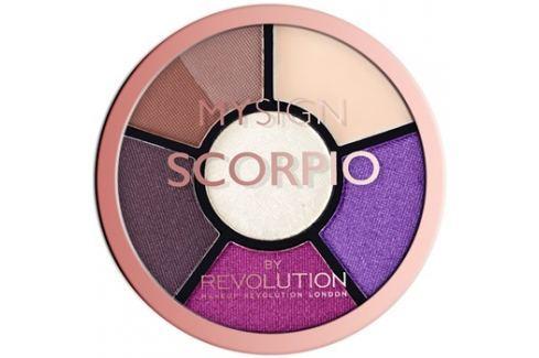 Makeup Revolution My Sign szemhéjfesték paletta árnyalat Scorpio  4,6 g Szemek
