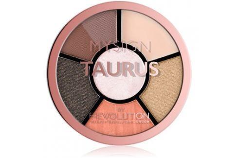 Makeup Revolution My Sign szemhéjfesték paletta árnyalat Taurus 4,6 g Szemek