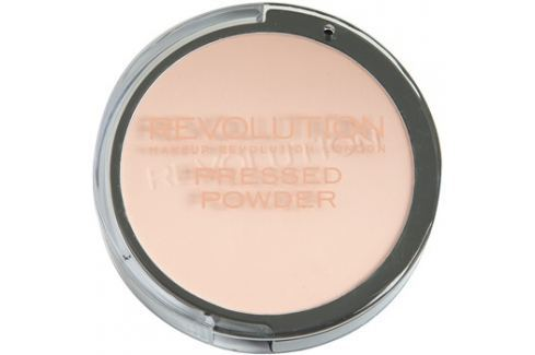 Makeup Revolution Pressed Powder kompakt púder árnyalat Translucent 7,5 g Púderek