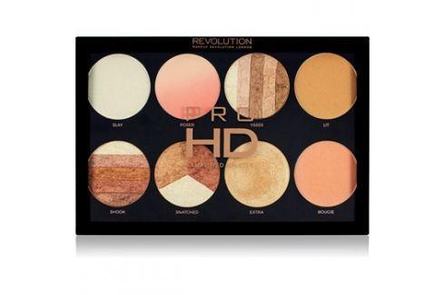 Makeup Revolution Pro HD Brighter Than My Future bőrvilágosító paletta 8 x 4 g Multifunkciós paletták