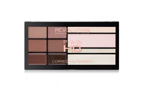Makeup Revolution Pro HD Brows paletta a szemöldök sminkeléséhez  20,5 g Multifunkciós paletták