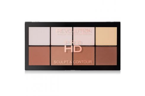 Makeup Revolution Pro HD Sculpt & Contour arckontúr paletta  15 g Arckontúr