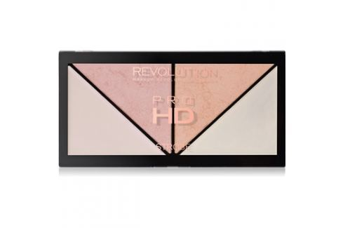 Makeup Revolution Pro HD Strobe Revolution bőrvilágosító paletta  14 g Arcpirosítók