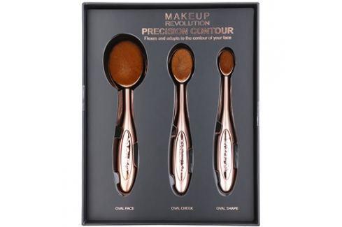 Makeup Revolution Pro Precision Brush kontúrozós ecset szett  3 db kiütések ellen
