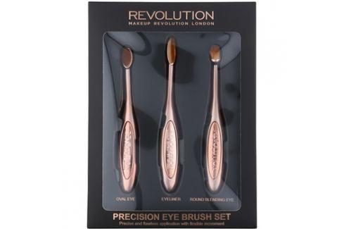 Makeup Revolution Pro Precision Brush ecset szett szemre  3 db készlet