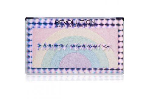 Makeup Revolution Rainbow élénkítő  10 g Highlighterek