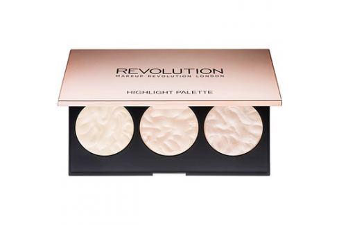 Makeup Revolution Rose Lights bőrvilágosító paletta  11,5 g Arcpirosítók