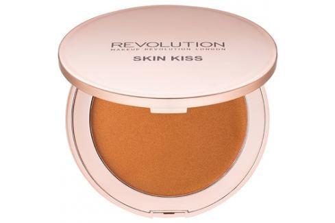 Makeup Revolution Skin Kiss krémes bronzosító árnyalat Bronze Kiss 11,5 g Szivacskák