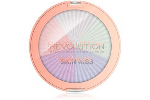 Makeup Revolution Skin Kiss bőrélénkítő arcra és szemre árnyalat Dream Kiss 14 g Highlighterek