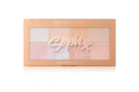 Makeup Revolution Soph X bőrvilágosító paletta 8 x 2 g Arckontúr