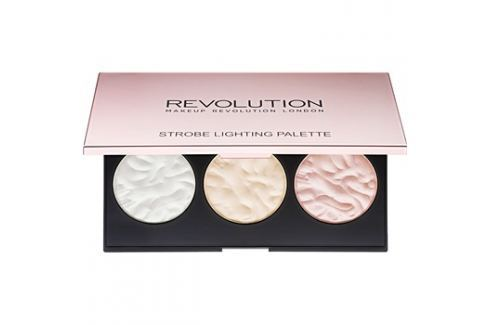 Makeup Revolution Strobe Lighting bőrvilágosító paletta  11,5 g Arcpirosítók