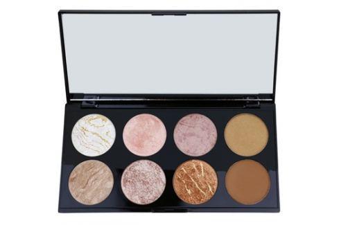 Makeup Revolution Ultra Blush arcpirosító paletta árnyalat Golden Sugar 13 g Arcpír