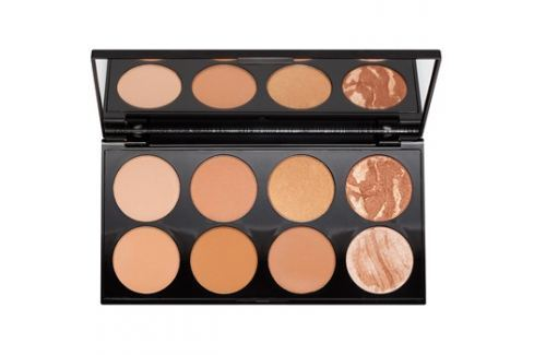 Makeup Revolution Ultra Bronze arckontúr paletta  13 g Arckontúr