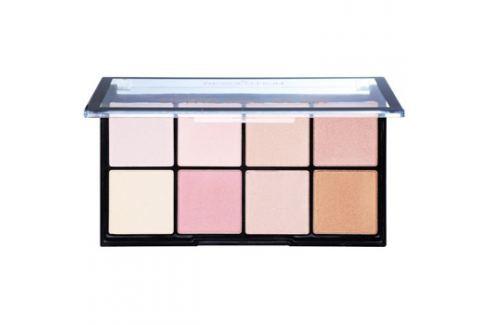 Makeup Revolution Ultra Pro Glow bőrvilágosító paletta  20 g Arcpirosítók