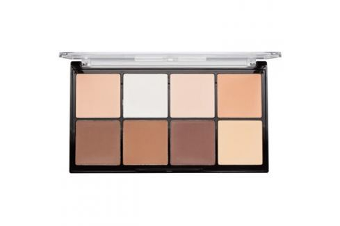 Makeup Revolution Ultra Pro HD Fair púder paletta az arc kontúrjaira  20 g Arckontúr
