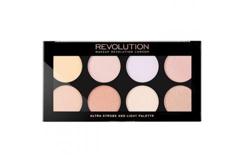 Makeup Revolution Ultra Strobe and Light élénkítő paletta  15 g Arckontúr