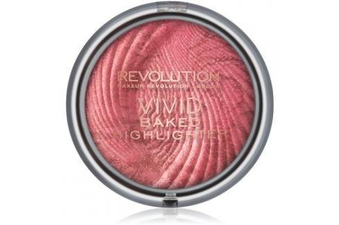 Makeup Revolution Vivid Baked kemencében sült élénkítő púder árnyalat Rose Gold Lights 7,5 g Highlighterek