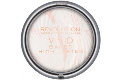 Makeup Revolution Vivid Baked kemencében sült élénkítő púder árnyalat Matte Lights 7,5 g Highlighterek