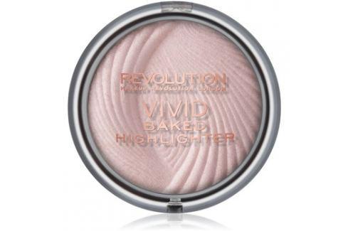 Makeup Revolution Vivid Baked kemencében sült élénkítő púder árnyalat Peach Lights 7,5 g Highlighterek