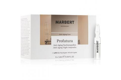 Marbert Anti-Aging Care Profutura éjszakai ampullák a bőröregedés ellen  5 x 1,8 ml ráncok ellen