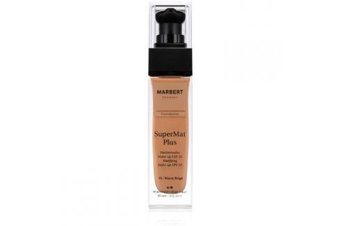 Marbert SuperMatPlus mattító make-up SPF 20 árnyalat 03 Warm Beige 30 ml up