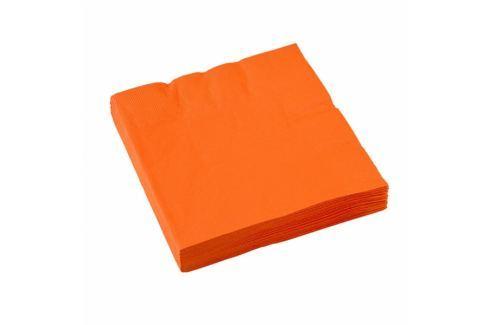 Amscan Szalvéták - narancssárga 20 db Szalvéták