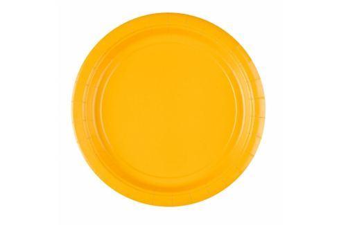 Amscan Tányérok - sárga 8 db Tányérok