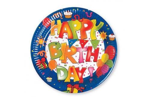 Procos Tányérok - Happy Birthday 10 db Tányérok